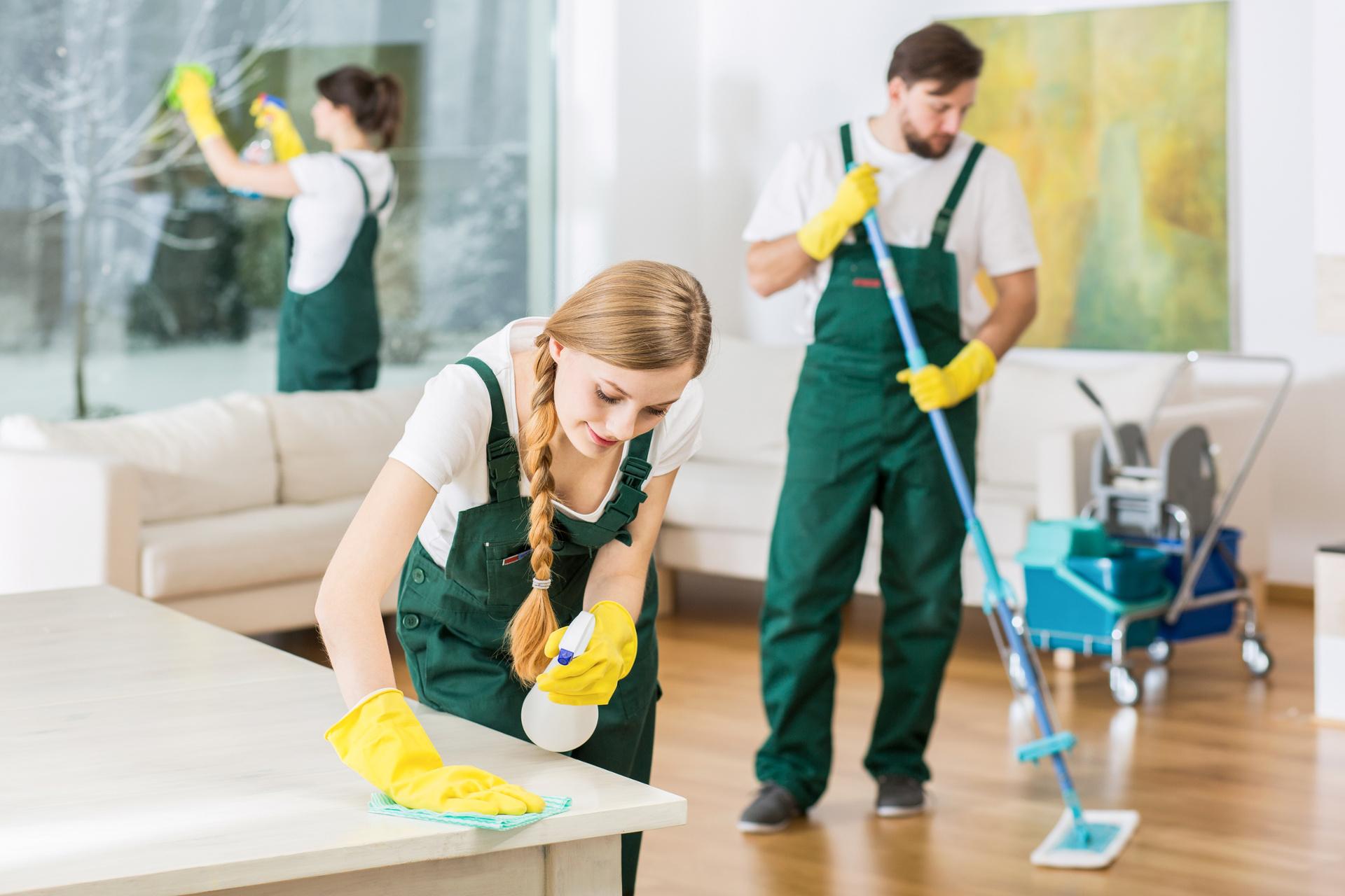 Usługi czystościowe